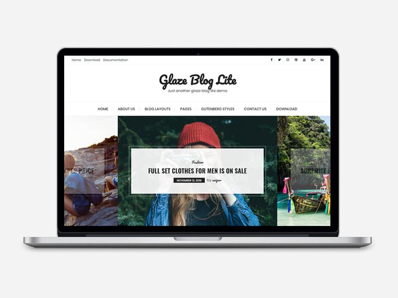 Glaze Blog Lite 1